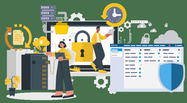 Tüm CRM verilerinizi gelişmiş güvenlik altyapımız ile koruyun.