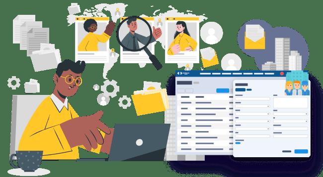 CRM software for customer management