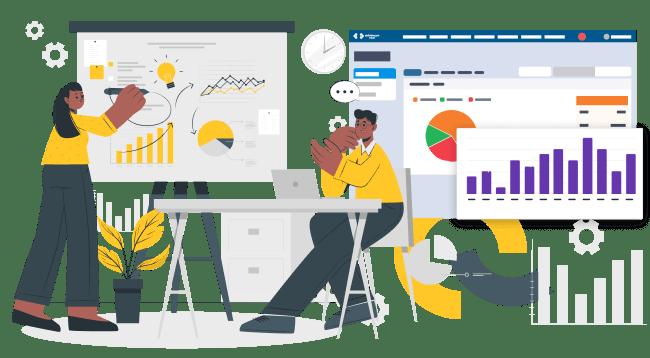 İşiniz için önemli kararları veriye dayalı olarak almanıza yardımcı olan CRM programı.