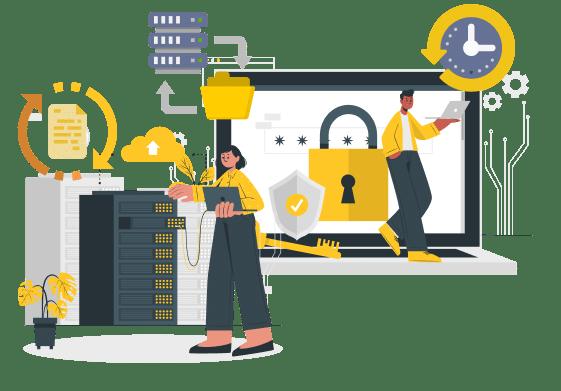 Verileriniz gelişmiş güvenlik altyapımız ile güvende